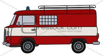 Old fire patrol van