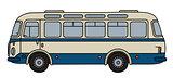 Retro line bus