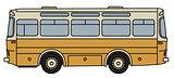 Classic yellow bus