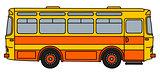 Classic orange bus