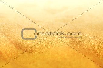Beautiful texture of yellow sand
