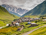 Ushguli village. Europe, Caucasus,  Georgia.