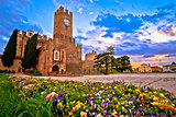 Villafranca di Verona park and landmark view