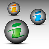 Information sign spheres
