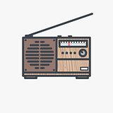 Retro FM radio receiver