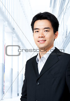 Portrait of Asian business people