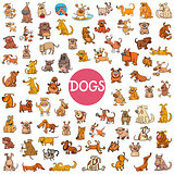 cartoon dog characters big set