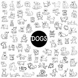 dog characters big set