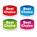 Best Choice label set