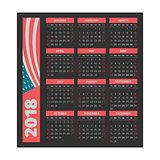 calendar 2018 template