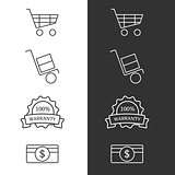 Commertial icon set
