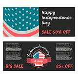 Independence day banner
