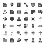 House Solid Web Icons
