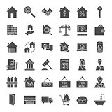 Real Estate Solid Web Icons