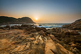 Sunrise over Shek O beach, Hong Kong