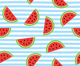 Vector watermelon background