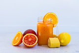 Fresh smoothy orange drink
