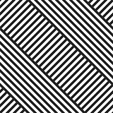 Geometric striped diagonal seamless pattern.