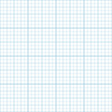Vector blue inch graph paper seamless pattern