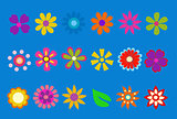 spring flower vector illustration