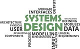word cloud - systems design