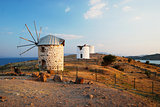 Bodrum old windmills