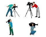 Six videographers set