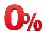 Red Zero Percent #4