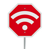 Stop sign WiFi