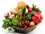 Fresh Vegetables Basket
