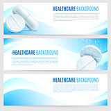 Healthcare and Medicine Banners
