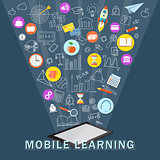 mobile learning with tablet