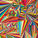 Abstract colored background woth colored triangles