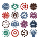 Emblems, badges and stamps - prize seals designs