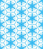 Winter pattern, snowflakes seamless design, Xmas seamless background