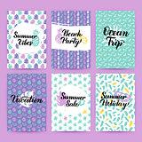 Summer Greetings Trendy Brochures