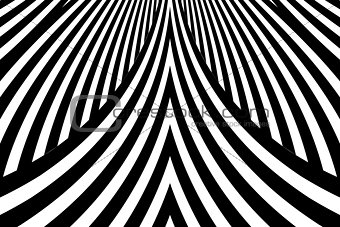 Abstract graphic lines pattern.