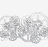 grid and gears 01 white