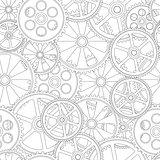 seamles pattern gears 00
