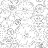 seamles pattern gears