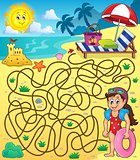 Maze 28 with beach theme 1