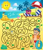 Maze 28 with beach theme 2