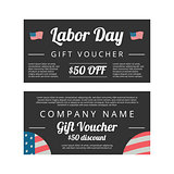 Labor day Gift voucher