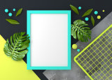 Modern Living Mock Up Frame