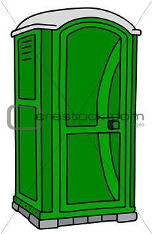 Green mobile toilet