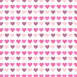 Hearts pattern background