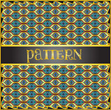 Decorative geometric pattern background