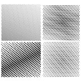 Set of  Halftone Dots
