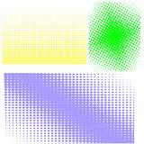 Halftone Patterns. Set of  Halftones
