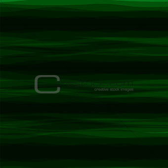 Abstract Green Horizontal Wave Background